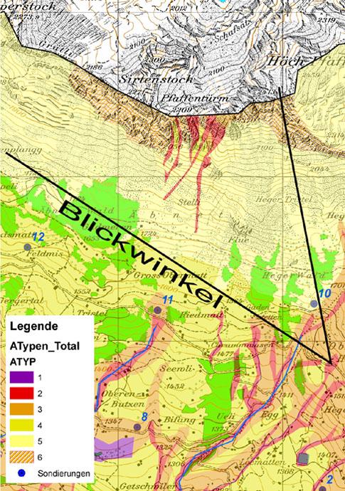 Scherrer hydrologie ag for Bodentypen der erde